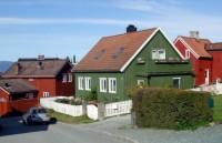 Sezonowa praca w Norwegii przy malowaniu domków dla studentów 2014