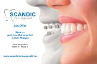Dam pracę w Norwegii – Kontrakt dla ortodonty – stomatologa, Oslo
