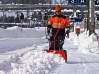2018 fizyczna praca Norwegia od zaraz przy odśnieżaniu bez języka Lillehammer